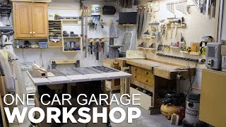 One Car Garage Workshop...That Still Fits A Car In The Garage