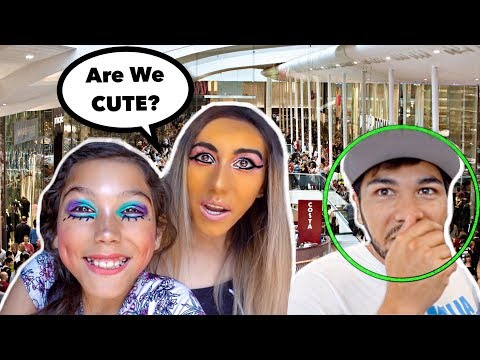We Did Our Makeup HORRIBLY TO See How Our FAMILY Would REACT!! Familia Diamond