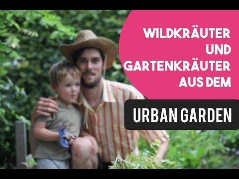Wildkräuter und Gartenkräuter pflücken! Urban Gardening - PermaKULTUR