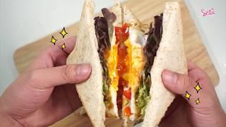 SistaCafe Channel : วิธีทำแซนด์วิชแบบคลีนๆ