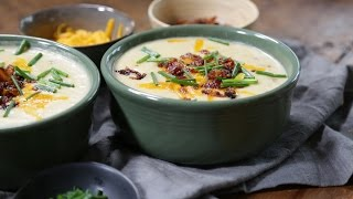 Thanksgiving Leftover Mashed Potato Soup Recipe | The Inspired Home