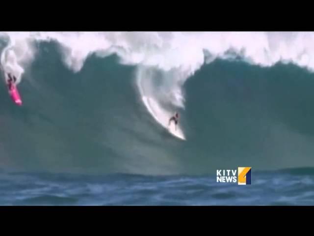 Wave cinematographer captures surfer's last wave