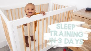 how I sleep trained my 5 month old in 3 days