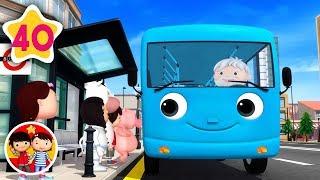 Las ruedas del autobús | Nanas para bebés | Little Baby Bum - Canciones Infantiles