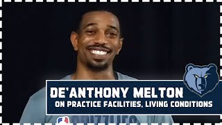 De'Anthony Melton on his activities inside the bubble, biggest improvements from hiatus