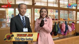 Nữ ca sĩ Việt Nam hạnh phúc trải nghiệm cùng thầy giáo già Nhật Bản tại trường tiểu học Akita 😍