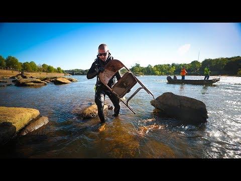 River Treasure: Extracting Treasure From River!! (Helping Fishermen)