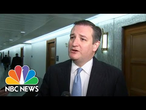 Ted Cruz Calls CBO Health Care Report 'Troubling' | NBC News