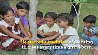 Piplantri- An Indian Village That Plants 111 Trees When a Girl is Born