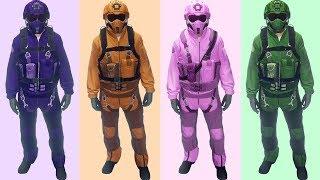 Get The Rare Color Motor Wars Flight Suits | GTA Online 1.41 | Smuggler's Run | Custom Clothing
