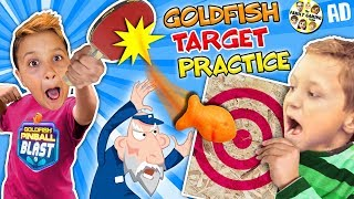 GOLDFISH CRACKERS CHALLENGE! Target Practice w/ FGTEEV