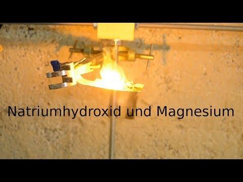 Natrium herstellen | Magnesium-Methode