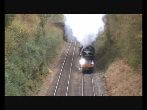 LNER Peppercorn A1 60163 'Tornado' powers up Gomshall bank w…