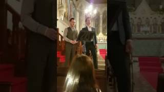 Tis the last rose of summer, sung by Irish tenors Peter O'Donohue and Dean Power