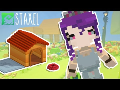 A WHOLE NEW ADVENTURE? Minecraft + Animal Crossing = Staxel!
