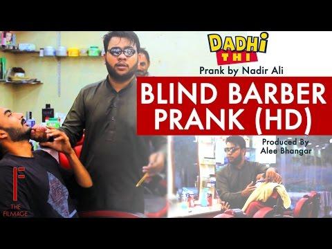 Blind Barber Prank