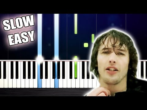 James Blunt - You're Beautiful - SLOW EASY Piano Tutorial by PlutaX