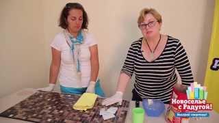 Мастеркласс: декорируем стол мозаикой