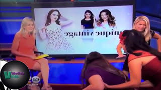 Unforgettable Moments Caught on Live TV HOT