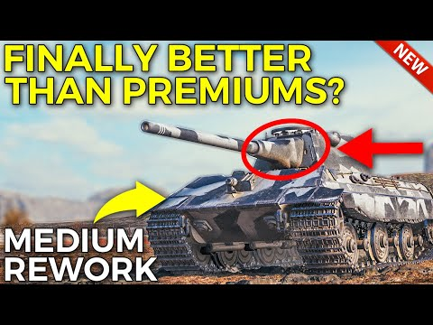 These Tier X Finally Getting Buffed! | World of Tanks Medium Tank Rebalance