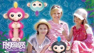 Małpki Fingerlings, WowWee - Jak opiekujemy sie małpkami.