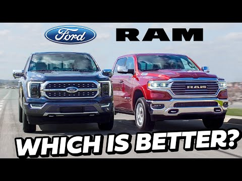 2021 Ford F-150 vs Ram 1500 - BEST TRUCKS