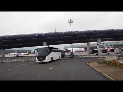 Paris CDG - Bus Transfer From Terminal 2F To Terminal 2E - Hall M Mp3
