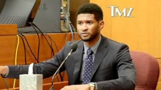 Usher Testifies in Court That Ex-Wife Tameka Attacked and SPIT on New Girlfriend Grace