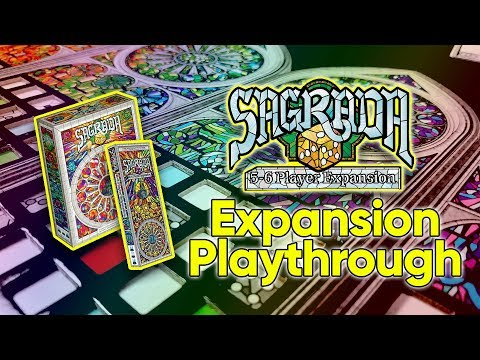 Good Luck, High Five Reviews Sagrada 5&6p Expansion