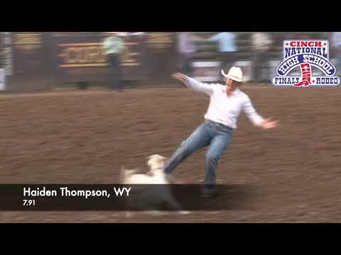 2021 NHSFR Goat Tying World Champion