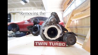 How to remove your turbos. Nissan 300zx Z32