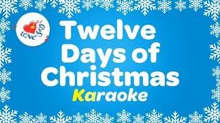 12 Days of Christmas Karaoke Christmas Song with Lyrics