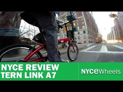 Tern Link A7 – $399 Folding Bike Review