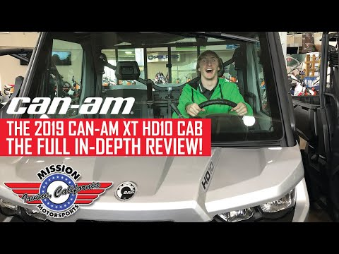 2019 Can-Am Defender XT CAB HD10 in Irvine, California - Video 1