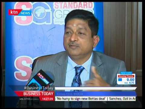 BIDCO CEO Thiagarajan Ramamurthy visits Standard group