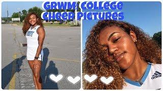 GRWM College Cheer Picture Day | Versatileangel