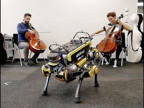 В Швейцарии создали танцующего под музыку робота
