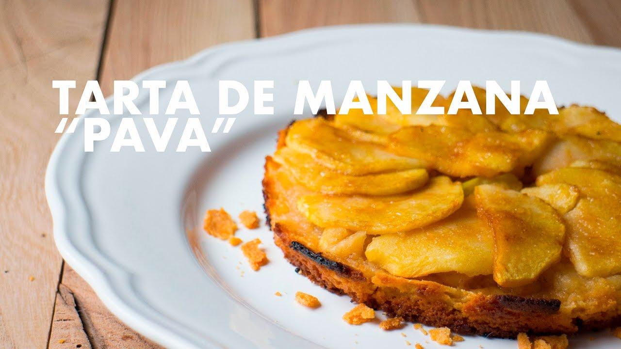 """TARTA DE MANZANA """"PAVA"""". GRABADA CON UNA GO PRO"""