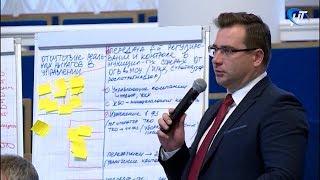 Участники форума «Дни лидеров муниципального управления» представили итоги работы Максиму Орешкину