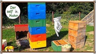 Wachs schmelzen/ Bienenwachs ganz einfach ausschmelzen/ geht schnell und ist unglaublich simpel