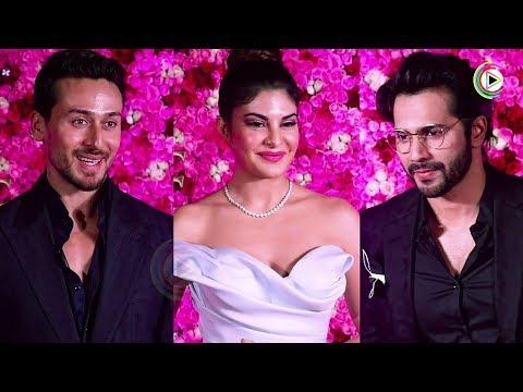 Tiger Shroff, Varun Dhawan And Jacqueline Fernandez At Lux Golden Rose Awards 2018 HUNGAMA