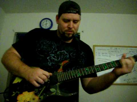 Early take for Tim Burge's guitar solo instrumental single More to come!!