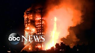Stories of survival emerge after London high-rise fire