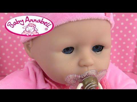 Poupon Baby Annabell Bébé Pleure Sac à langer Baby Doll Review