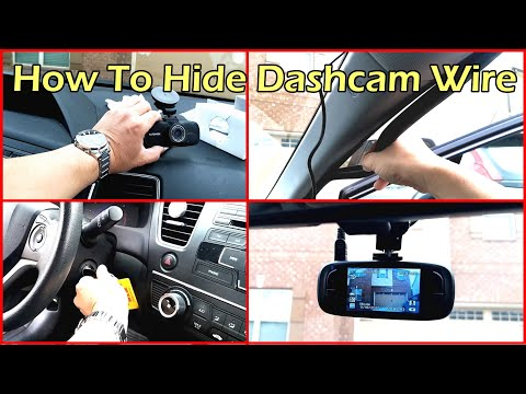 How To Hide Your Dashcam Wiring for Clean Install