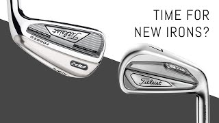 When is it time to replace your irons? Original Titleist AP2 vs. New T100
