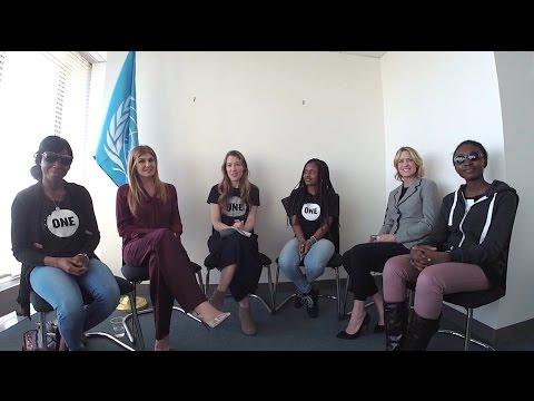 Connie Britton, Robin Wright & Nigerian Activists Talk Girls' Education (International Women's Day)