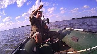 Рыбалка в черном яру на волге