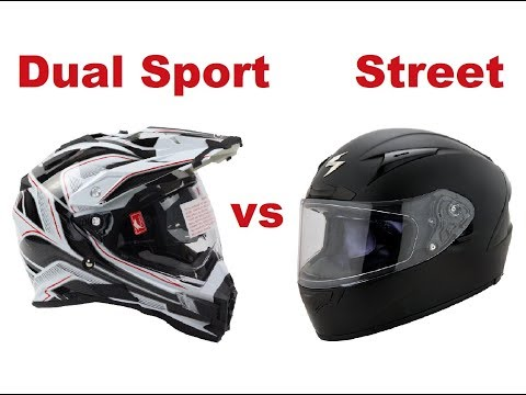 Dual sport or Street helmet – Which one is better?
