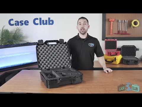 2 Pistol & Accessory Carry Case - Featured Youtube Video